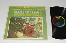 GLEN CAMPBELL Too Late to Worry Too Blue to Cry LP Capitol Canada ST-1881 VG/VG+