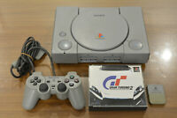 Sony PlayStation 1 PS1 (SCPH-7000) Console With Memory card Gran turismo 2