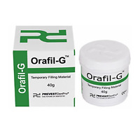Orafil G White Dental  Tooth Filling Kit Repairs 40 GM Free Shipping