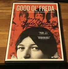 GOOD OL' FREDA - Freda Kelly The Beatles - Special Feature Issue DVD SIGNED