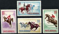 Romania 1964 SG#3142-5 Horsemanship MNH Set #D54773