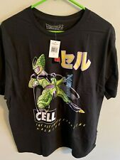 Dragon Ball Z Cell Saga Officially licensed Adult XL T Shirt NWT Toei Animation