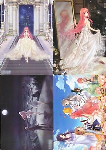 Miracle Love Nikki - Flexible Plastic Jumbo Card LOT of 4 - Nikki and Friends