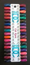 DND Daisy Gel Polish Colour Sample Chart Palette Display Cat Eyes