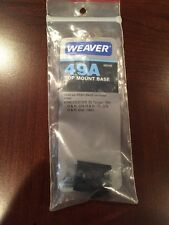 WEAVER #49A Scope Mount Base (48049) Winchester 70 TARGET - 300 & 375 H&H