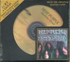 Deep purple Machine Head 24 carats gold CD Audio Fidelity nouveau OVP sealed Nº poo