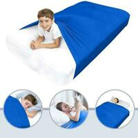 1Sensory Compression Bed Sheet Alternative to Weighted For Kids Blankets 5+ E8D3