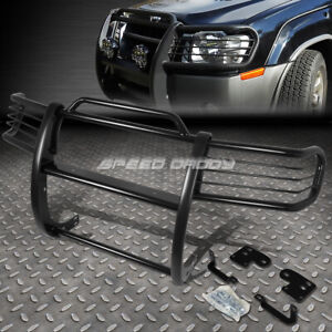FOR 98-00 FRONTIER/-01 XTERRA BLACK COATED MILD STEEL FRONT BUMPER GRILL GUARD