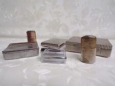 3 vintage LIGHTERS + 2 vintage CIGARETTE BOX + 1 vintage SCODAM cigarette roller