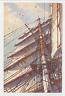 """192-BOATS & SHIPS -NETHERLANDS -""""Bovenbramzeil vastmaken"""""""