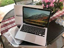 APPLE MACBOOK PRO 13 RETINA FINE 2013 i5 2.4GHz 8Gb RAM 500Gb NUOVO SSD
