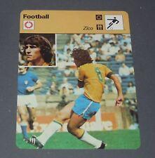 FICHE FOOTBALL ARGENTINA 78 ITALIE-BRESIL 1978 ZICO BRESIL BRASIL