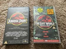 Jurassic Park And The Lost World VHS video