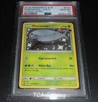 PSA 10 GEM MINT Pheromosa SV5/SV94 SM Hidden Fates SHINY HOLO Pokemon Card