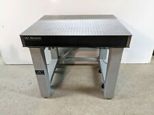 Tested Newport Optical Table Pneumatic Isolation Bench With Casters Breadboard