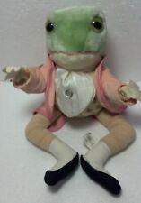 "Federick Warne (Peter Rabit) Mr. Jeremy Fisher Frog 12"" Beatrix Potter"