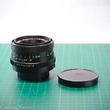 Pentacon 50mm f/1.8 Electric MC Lens with M42 Pentax Mount