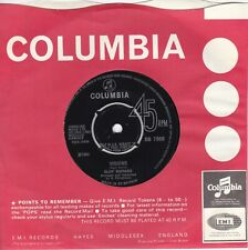"CLIFF RICHARD..VISIONS...EXCELLENT 1966 COLUMBIA POP / BEAT 7""..DB 7968"