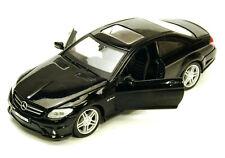 Mercedes-Benz CL63 AMG w/ Sunroof, Black Maisto 34297 1/24 Scale Diecast Car