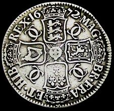 S861: 1672 Charles II Large Silver Full Crown: V.QVARTO, Spink 3358