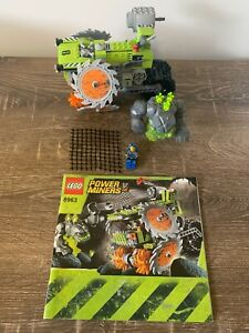 LEGO 8963  Power Miners Rock Wrecker - 100% complete with instructions