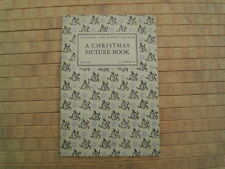 British Victoria And Albert Museum Christmas Picture Book 1930