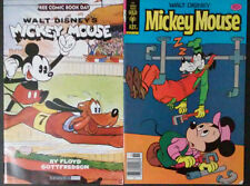 Mickey Mouse #201 (Vintage Bronze Age Comic Book Including Free Comic)