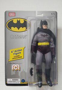 "Batman 8"" MEGO DC Super Heroes Action Figure New 2020 IN HAND! 62816"