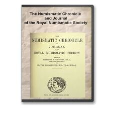Numismatic Chronicle Royal Numismatic Society Annual Volumes 1838 - 1914s - C879