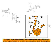 FORD OEM 05-07 Focus Engine-Air Cleaner Filter Element 6S4Z9600A