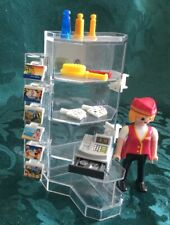 PLAYMOBIL Hotel Gift Shop Inc Assistant Till Cash Post Cards & Accessories