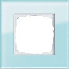 Gira Rahmen Abdeckrahmen Esprit 1-fach 021118 mint einfach Blende Glasrahmen
