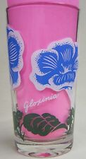 Gloxinia Peanut Butter Glass Glasses Drinking Kitchen Mauzy 60-1