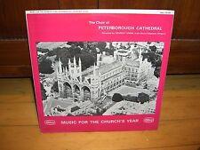 CHOIR OF PETERBOROUGH CATHEDRAL-STANLEY VANN-ABBEY LPB 658 UK  LP