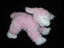 Gund Winky Baby Lamb 9 inch Soft Plush 58131 Rattle 2005