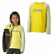 BROWNIES LONG SLEEVED TSHIRT ALL SIZES OFFICIAL UNIFORM GIRLS KIDS FREE DELIVERY
