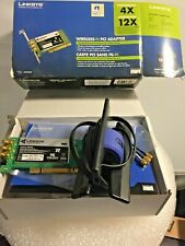 Linksys WMP300N Cisco Wireless-N PCI Adapter