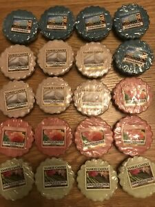 Yankee Candle Wax Melts Tarts X 20 assorted Scents new and unused