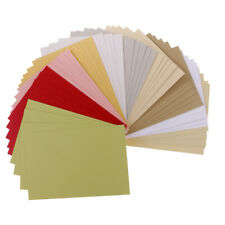50 Sheets/Pack Specialty Cardstock for Paper Crafts Making Assorted Colours