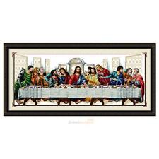 """The Last Supper"" Cross Stitch Kits DIY Needlework Hand Embroidery Kits Decor"