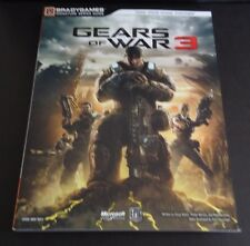 Gears of War 3 Signature Series Paperback Strategy Guide   NEW   GOW 3