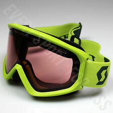 Scott Fact Illuminator Lens Ski/Snowboard Goggles - Macaw Green (NEW) Lists @$50