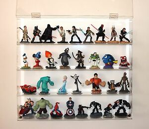 Collectors Showcase - Premium Display Case for Disney Infinity Collection - T3MS