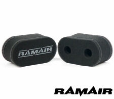 2 x RAMAIR Carb Sock Air Filters Corsa Kadett 1.2 1.3 arch port Weber 40 DCOE