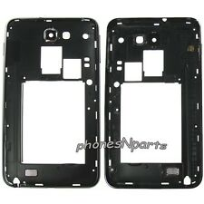 OEM ATT Samsung Galaxy Note 1 i717 Back Housing Rear Cover w/ Camera Lens Black