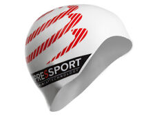 Gorro de natacion COMPRESSPORT swimming cap - blanco -