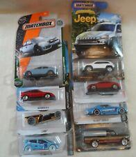 Matchbox/Hot Wheels jeep diecast cars lot of 8