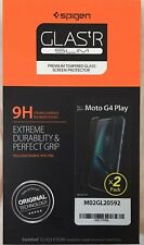 Spigen Glastr SLIM Premium Tempered Glass Screen Protector 9H for Moto G4 Play 2