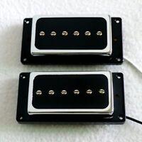 Les Paul P90 Electric Guitar Pickups Humbucker Set of 2 Magnet Ceramic Pickups