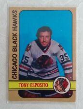 1972 O-PEE-CHEE TONY ESPOSITO CHICAGO BLACK HAWKS  #137  VG-EX
